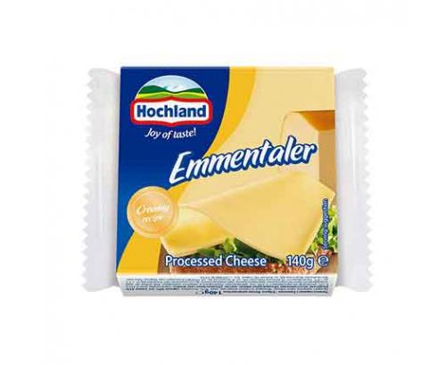 Топено сирене Хохланд 140г Ементалер Слайс