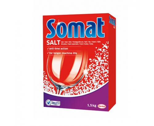 Сол за съдомиялна машина Сомат 1,5кг