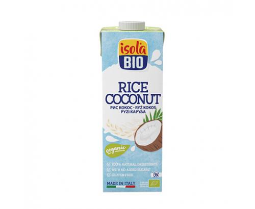 Био оризово-кокосова напитка Исола Био 1л