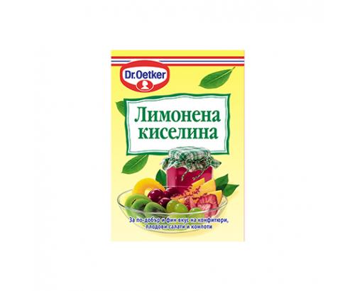 Лимонена киселина Д-р Йоткер 8г