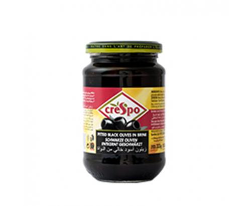 Черни маслини Креспо 333г Без костилка