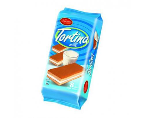 Суха паста Тортина 200г Мляко