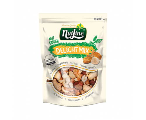 Микс сурови ядки и сушени плодове Нътлайн 250г Дилайт
