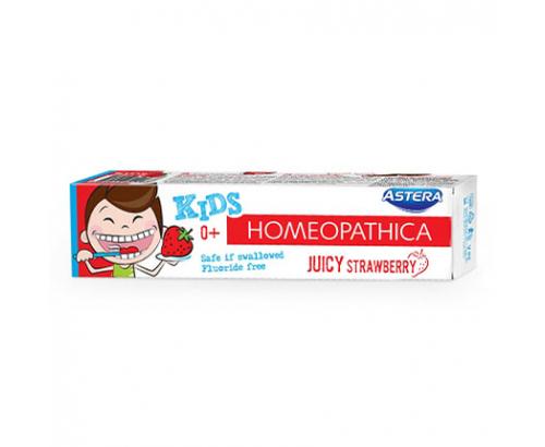 Паста за зъби Астера Хомеопатика Кидс 50мл Ягода