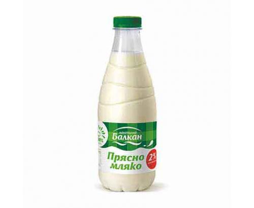 Прясно мляко Балкан 2% 1л