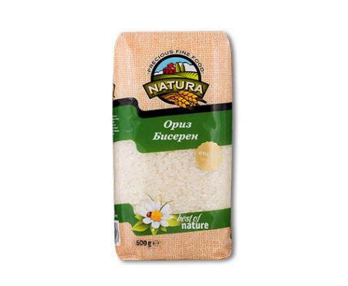 Ориз Натура 500г Бисерен