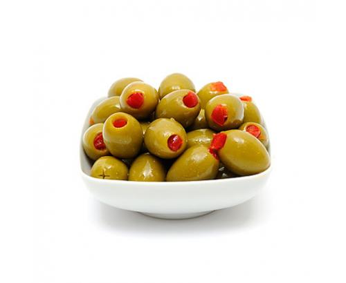 Зелени маслини с чушка Джъмбо