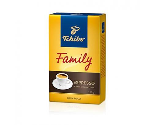 Мляно кафе Тчибо 250г Фемили еспресо