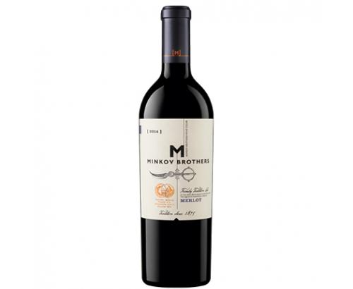 Вино Братя Минкови 750мл Мерло