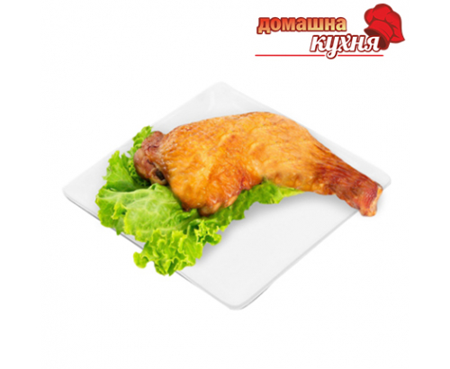 Печено пилешко бутче