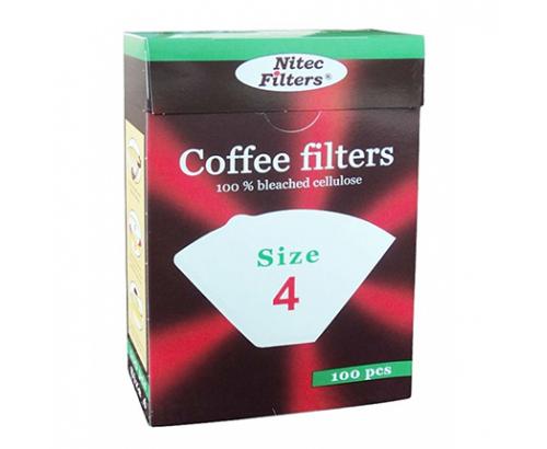 Филтър за кафе К4 100бр