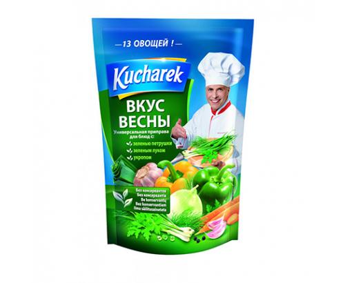 Универсална зеленчукова подправка Кухарек 175г Пролетни зеленчуци