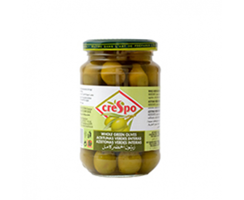 Зелени маслини Креспо 354г