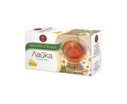 Чай Биопрограма 20бр Лайка