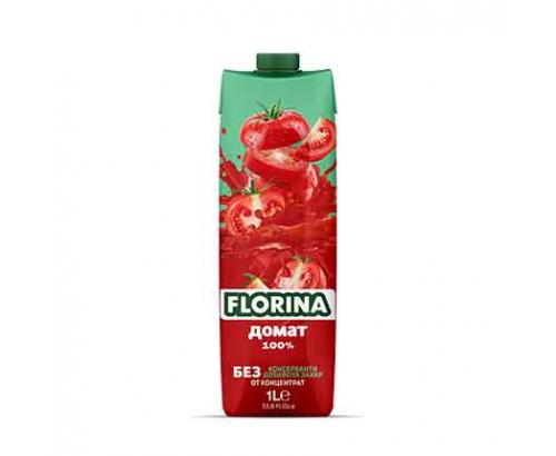 Натурален сок Флорина 1л Домат 100%