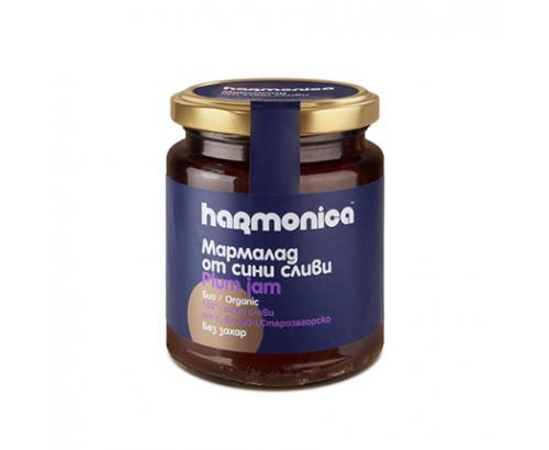 Био мармалад 100% Хармоника  300г Сини сливи без захар