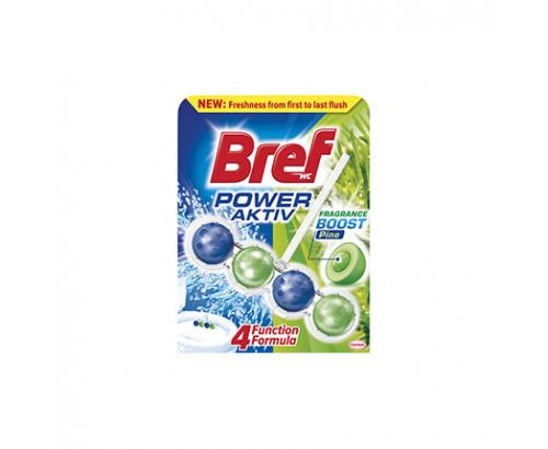 Ароматизатор за тоалетна Бреф 50г Пауър актив топчета Бор