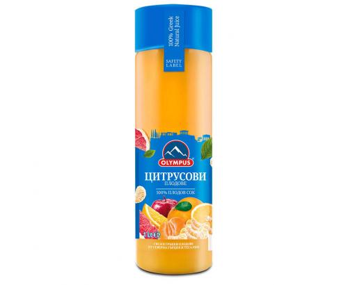 Натурален сок Олимпус 1л Цитрусови плодове