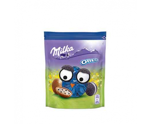 Мини шоколадови яйца Милка 86г Орео