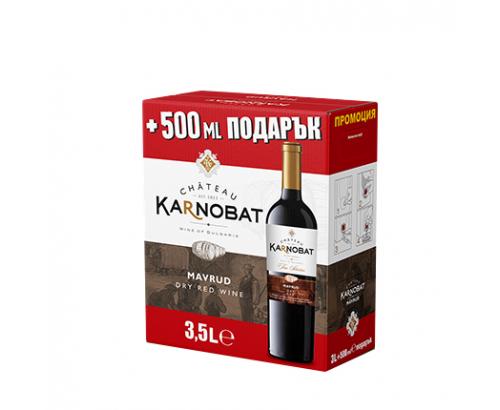 Вино Шато Карнобат 3,5л Мавруд