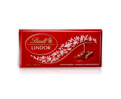 Шоколад Линдт Линдор 100г Млечен