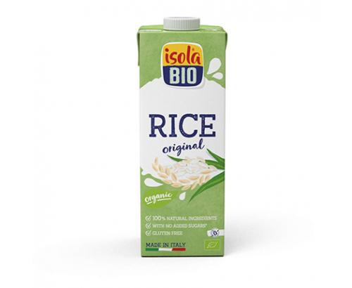 Био оризова напитка Исола Био 1л