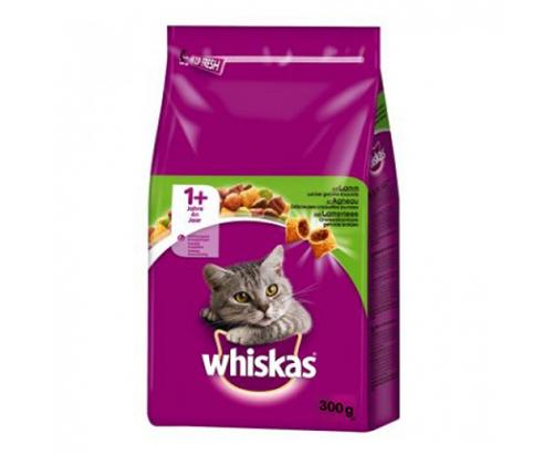 Храна за котки Уискас 300г Суха Агнешко