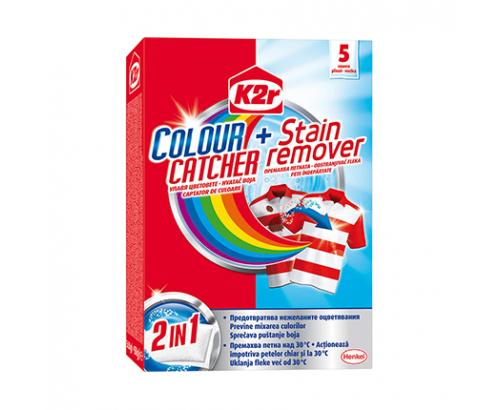 Цветоулавящи кърпички K2r 5бр Против петна