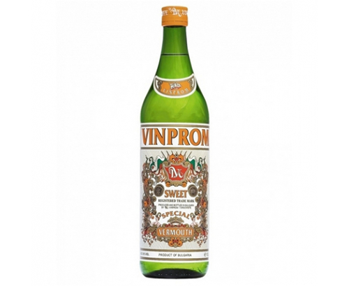 Вермут Винпром 1л Бял Сладък