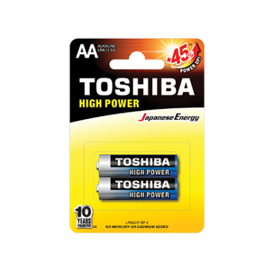Батерии Тошиба 2бр LR06 1.5V