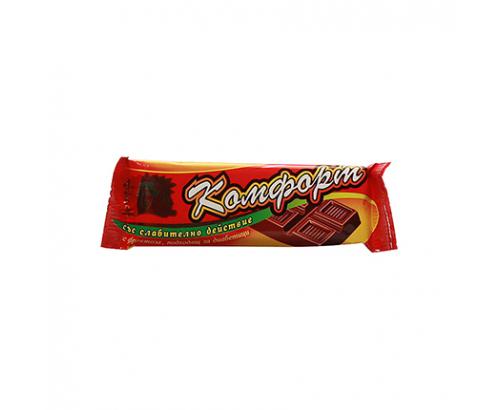 Шоколад със слабителен ефект Комфорт 20г Без захар