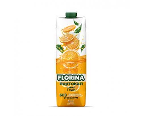 Натурален сок Флорина 1л Портокал 100%