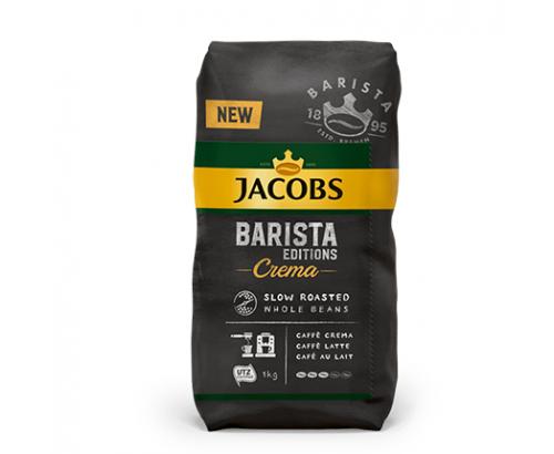 Кафе на зърна Якобс Бариста 1кг Крема