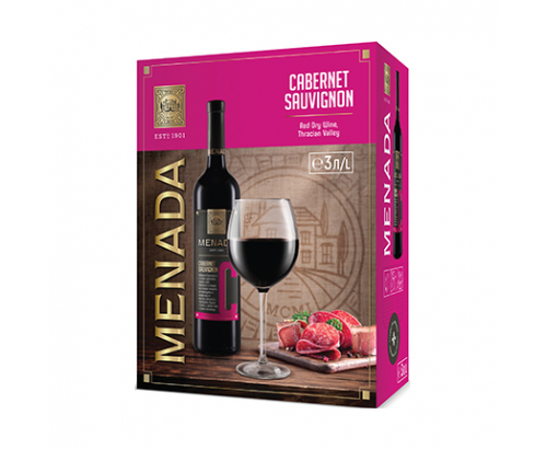 Вино Менада 3л Каберне Совиньон