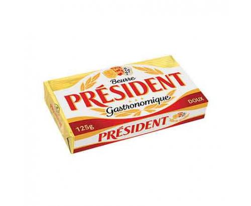 Краве масло Президент 125г