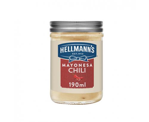 Майонеза Хелманс 190мл Чили
