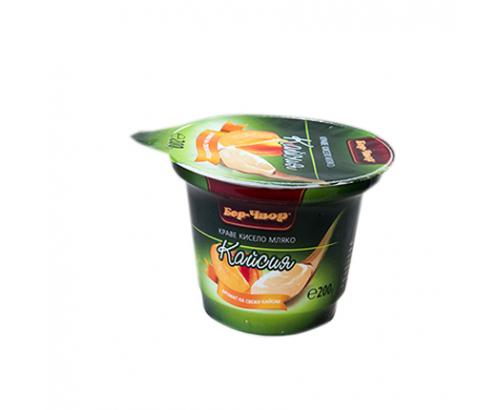 Плодово мляко Бор Чвор 200г Кайсия