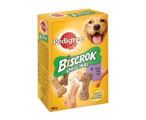 Лакомство за кучета Педигри 500г Бискрок