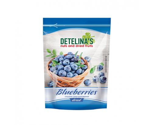 Сушени сини боровинки Детелина 100г