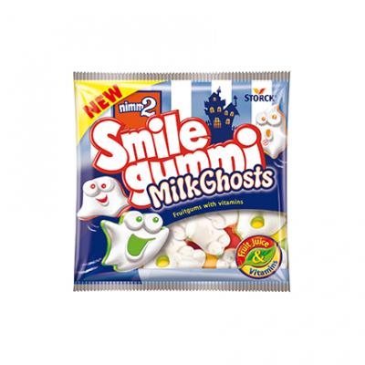 Желирани бонбони Смайлгъми 90г Млечни духове