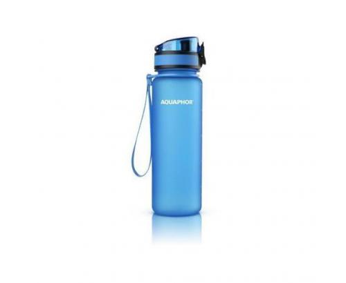 Бутилка за филтрирана вода Аквафор 500мл Синя