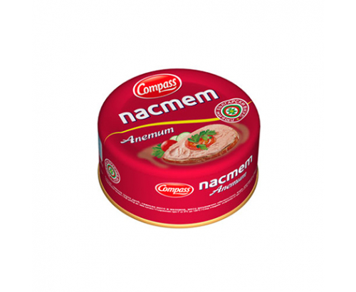 Пастет Компас 100г Апетит