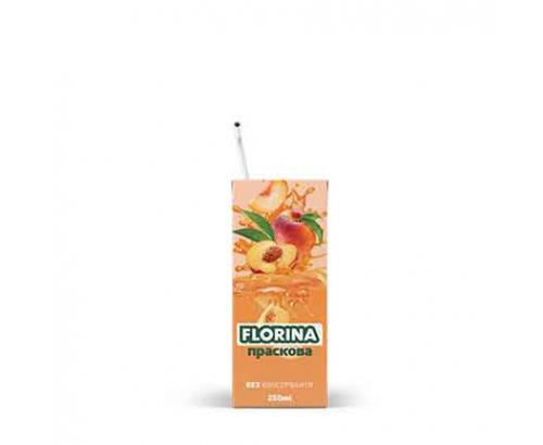 Плодова напитка Флорина 250мл Праскова