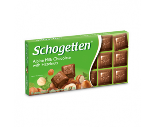 Шоколад Шогетен 100г Лешник