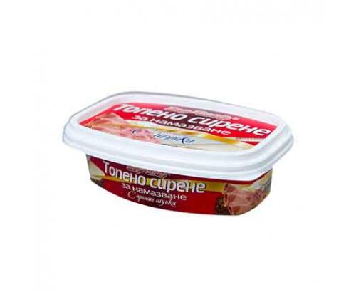 Топено сирене за мазане Бор Чвор 150г Шунка
