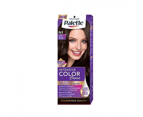 Боя за коса Палете Интензив Калър Крийм N3 Средно кафяв