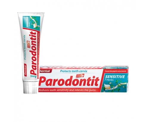 Паста за зъби Дентал Парадонтит 100мл 7 билки