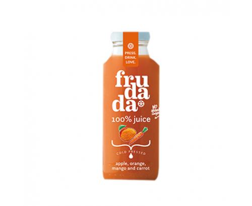 Сок Фрудада 750мл Ябълка, морков, манго и портокал