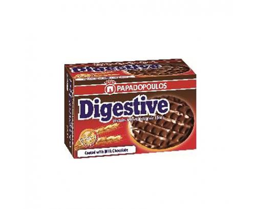 Бисквити Дайджестив 200г Млечен шоколад