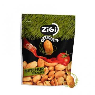 Маринован фъстък Зиги 70г кетчуп